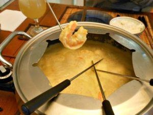 shrimp-fondue